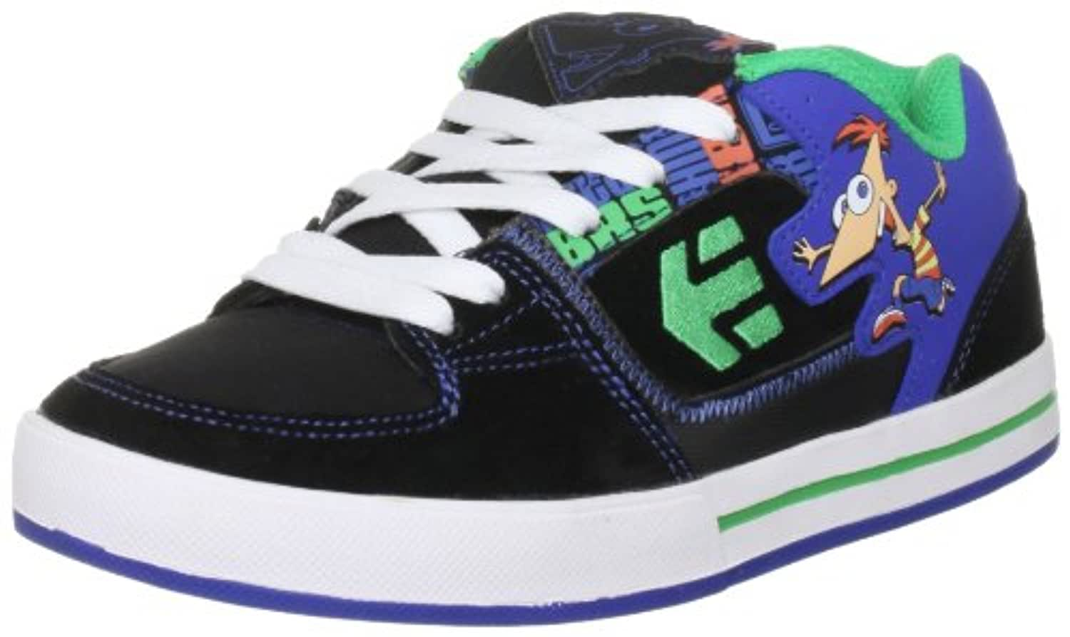 Etnies Disney Kids Ronin Green/Orange Fashion Sports Skate Shoe 4301000110 4 UK Youth
