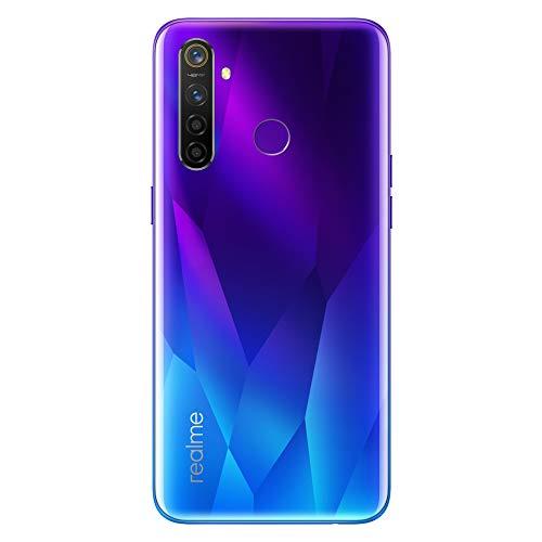 realme 5 Pro Smartphone Cellulari, 6.3 '' Snapdragon 712AIE Octa Core 48MP AI Quad Camera 4035mAh, Dual Sim, Versione Europea (4GB+128GB, Blu)