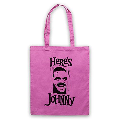 Ispirato Da Shining Jack Nicholson Heres Johnny Mantelle Non Ufficiale Rosa