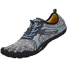 katliu Barefoot Zapatillas de Trail Running Minimalistas Zapatillas de Deporte Exterior Interior Zapatos de Deportes Acuaticos