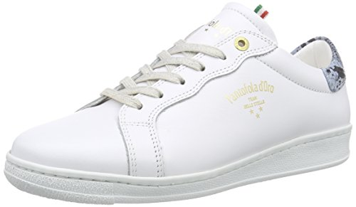 Pantofola d'Oro Felicita Damen Sneakers Mehrfarbig (BRIGHT WHITE / ROYAL BLUE)