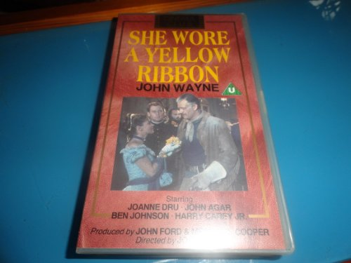 she-wore-a-yellow-ribbon-vhs-import-allemand