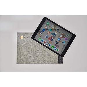 Apple iPad pro 11 ✔ Hülle aus regionalem Filz aus Österreich ✔ Handgemachte 11 Zoll Tasche für Apple iPad Pro 11 ✔ Colours and Dreams ✔ auch geeignet für IPad 9,7 mit Stift
