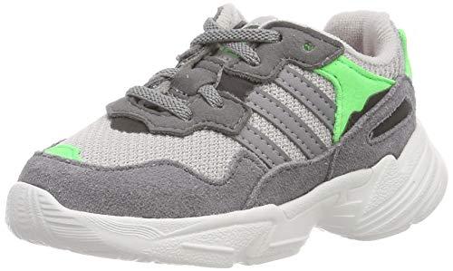 97a8ac36d704 adidas Yung-96 El I, Chaussures de Gymnastique Mixte bébé, Gris Grey Two