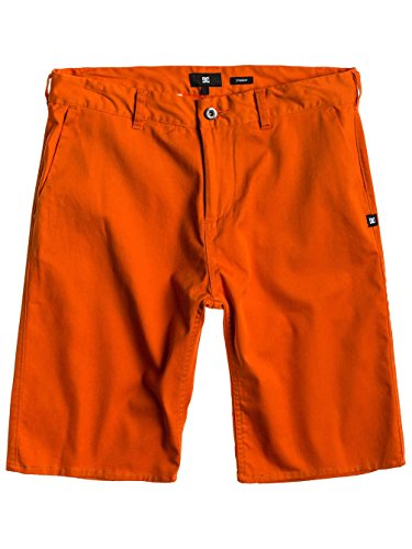 DC Shoes Herren Shorts Worker Straight M Wkst rot