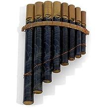 Flauta de Pan de hojas fácil de usar instrumento de percusión de viento–comercio justo–GASTOS DE ENVÍO GRATIS