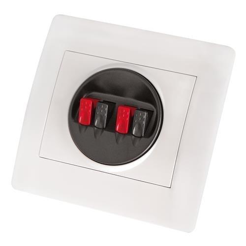 Dynavox Wandterminal für Lautsprecher an Schalterdose für Unterputzmontage