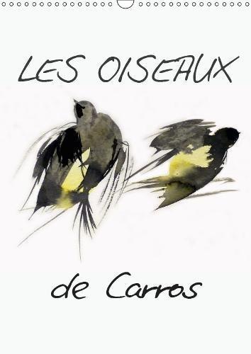 Les oiseaux de Carros 2019: Oiseaux, aquarelles par Frederic Belaubre