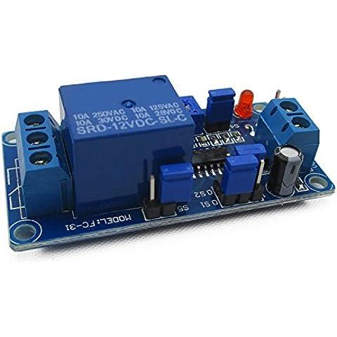 KAISIL 12V N ritardo di attivazione ritardo relè modulo di circuito vibrante modulo di allarme