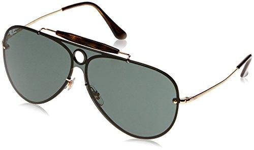 Ray-Ban Rayban Unisex-Erwachsene Sonnenbrille 3581n, Arista/Green, 32
