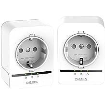 D-Link PowerLine  AV 500 Passthrough - Kit de adaptadores PLC, 500 Mbps, color blanco