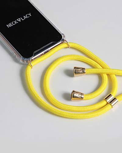 NECKLACY Handykette Handyhülle zum umhängen - für iPhone X / iPhone XS - Case / Handyhülle mit Band zum umhängen - Trageband Hals mit Kordel - Smartphone Necklace -
