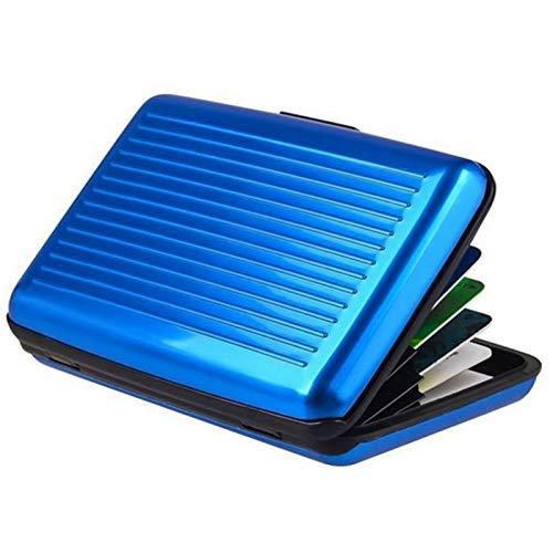 Especificación: Material: aleación de aluminio Color: plateado, rojo, azul, negro Tamaño: 11 x 7.5 x 2cm/4.34 x 2.95 x 0.79 inch Peso: 80g  Caracteristicas: Material de aleación de aluminio de alta resistencia. Anti-magnético y seguro. Uso versátil. ...