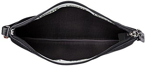 Tracolle Donna Lacoste Nf1887po, 17,5 X 1 X 27 Cm Nero (nero)
