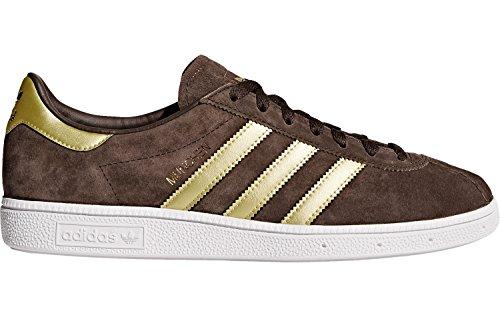 adidas Herren Munchen Basketballschuhe brown/matte gold