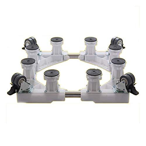ALXLX rutschfeste Bewegliche Halterung - Basis for Haushaltsklimaanlagen - Verstellbarer Möbelträger - Waschmaschine, Kühlschrank, Trockner (Color : B, Size : 8feet) -