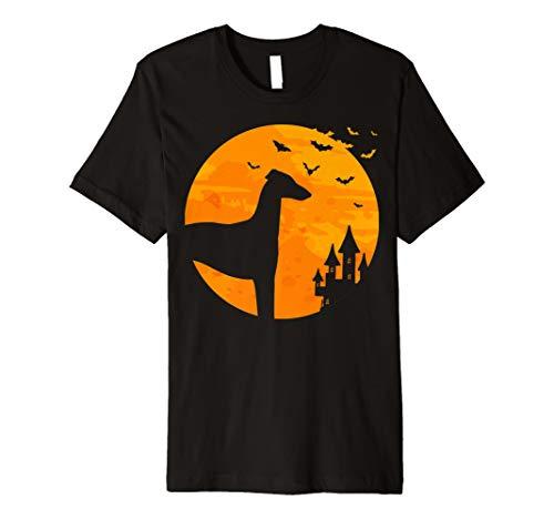 (Italienisches Windspiel Tee Scary Halloween T Shirt)
