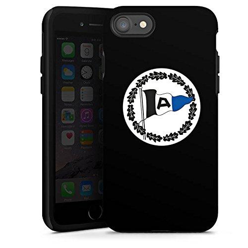 Apple iPhone X Silikon Hülle Case Schutzhülle Arminia Bielefeld Fanartikel DSC Bundesliga Tough Case glänzend