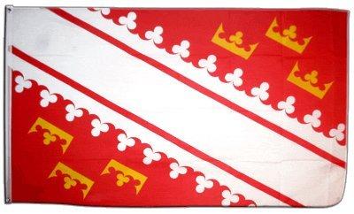 Flagge Frankreich Elsass neu - 90 x 150 cm
