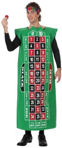 Atosa 10540 - Verkleidung Roulette Herren Gr. (Roulette Kostüm Tisch)