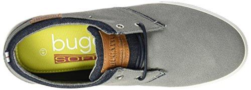 Bugatti K48033, Sneakers Basses Homme Gris (Grau 160)