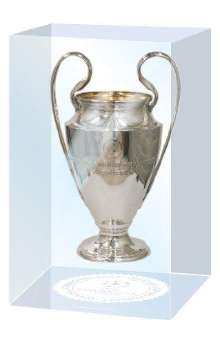 UEFA Champions League Cup in acrilico, Uomo, Pokalreplika Uefa Cl 70 Mm In Acryleinfassung, argento