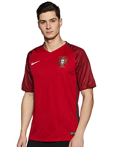 Nike Portugal Stadium Euro 2016 Trikot, Fan, Herren, Sport, rot/tief XXL Gym Red/Deep Garnet/White