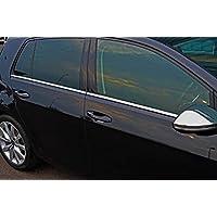 Juego de tapas para llenado de ventanas laterales de cromo para Golf VII (2012+