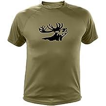 Camiseta de caza Ciervo - Ideas regalos