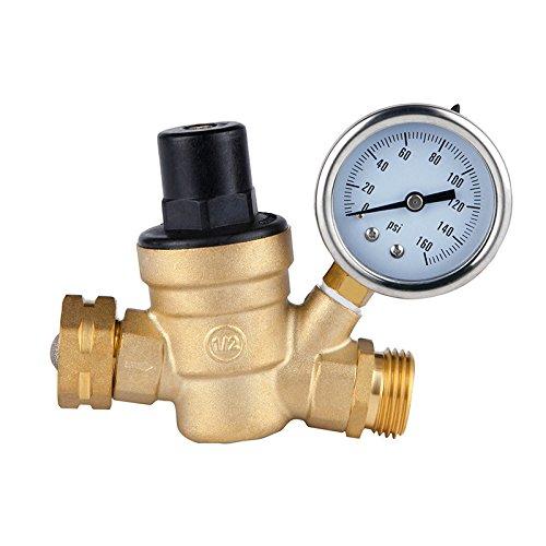 senza-piombo-3-4-dn20-bspp-regolabile-ottone-acqua-flusso-valvola-riduttore-pressione-con-manometro-
