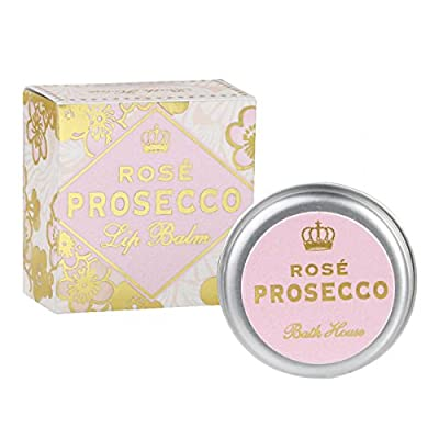 Bath House Rose Prosecco Lip Balm 15g Tin by Bath House