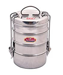 Aristo Tiffin 7x4 Stainless Steel Lunch Box