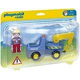 Playmobil 6791 1.2.3 Tow Truck