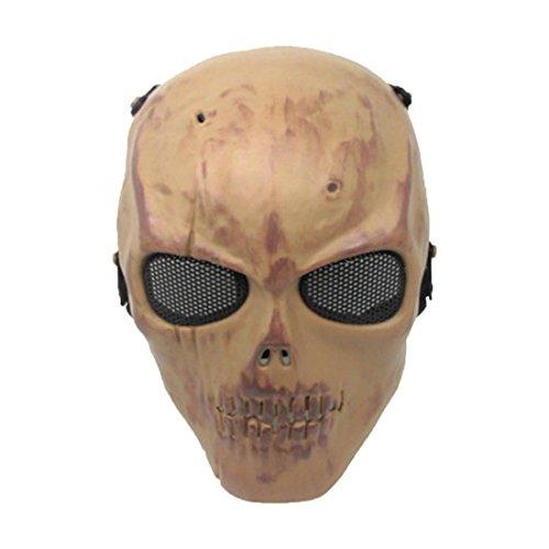YYF Creepy Scary Schädel Kopf Maske Halloween Party Kostüm Dekorationen