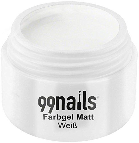 99Nails® Gel Mate-Color Blanco