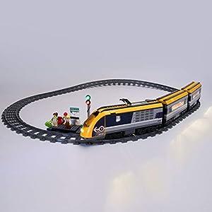 POXL Luci Kit LED Illuminazione Set per Lego City Treno Passeggeri 60197, LED Luci - Non Include Il Set Lego 8729416172416 LEGO