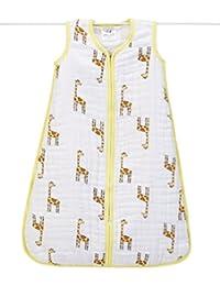 aden + anais Gigoteuse Cozy Jungle Jam Girafe Jaune/Blanc