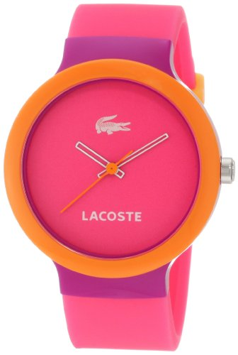 Lacoste GOA Pink Dial Pink Strap Unisex Watch 2020002