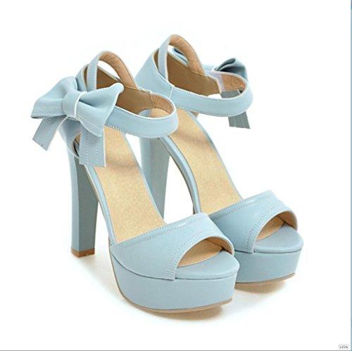 Sproud Fashion Sexy Wasserdicht High Heels Sandaletten Weibliche Bögen Koreanisch Prinzessinnen Und Sommer Schuhe 39 D