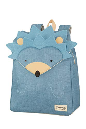 Samsonite Happy Sammies - Kinder-Rucksack S+, 34 cm, 11 L, Blau (Hedgehog Harris)