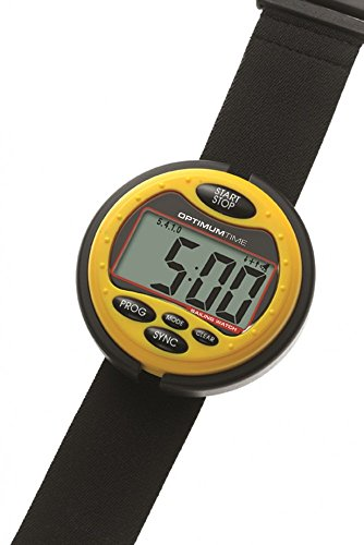 Optimum Time Series 3 Segeluhr in gelb - wasserfester Race Timer für das Segeln