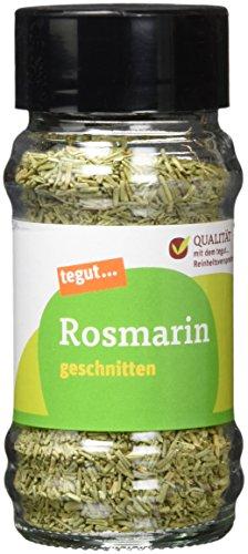 Tegut Rosmarin geschnitten Gewürz, 27 g (Rosmarin)