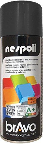 AEROSOL Peinture Noir - Peinture Pro Mat - 400ml