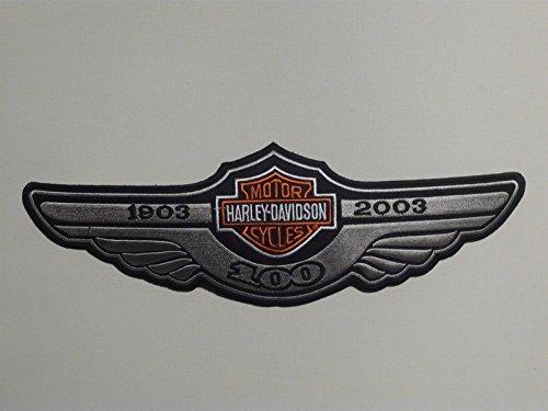 Artículo eird al día siguiente Envío.aufbügler Harley Davidson Patch 29cm x 9cm también se puede aufgenäht