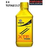 2 LITRI ( X4 BOTTIGLIETTE DA 500ML ) DI OLIO FORCELLA BARDAHL XTF FORK SAE 20W