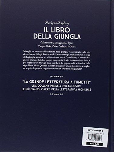 scaricare ebook gratis Il libro della giungla: 5 PDF Epub