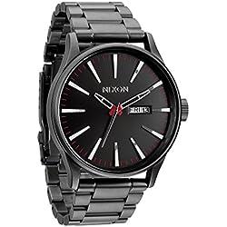 Nixon Reloj Analógico de Cuarzo para Hombre con Correa de Acero Inoxidable – A356-131-00