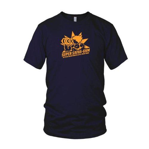 DBZ: Super Saiya Gym - Herren T-Shirt Dunkelblau