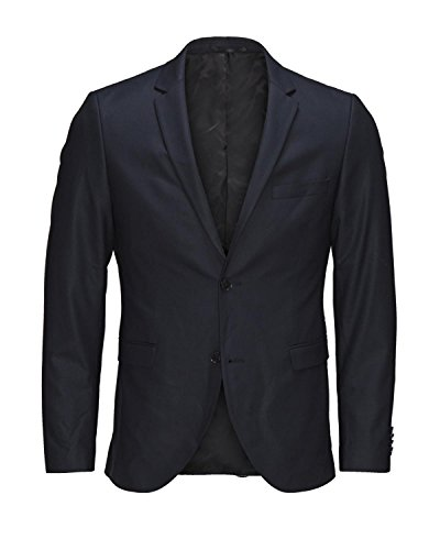 JACK & JONES Premium 12095021-Americana Hombre Azul Oscuro 42