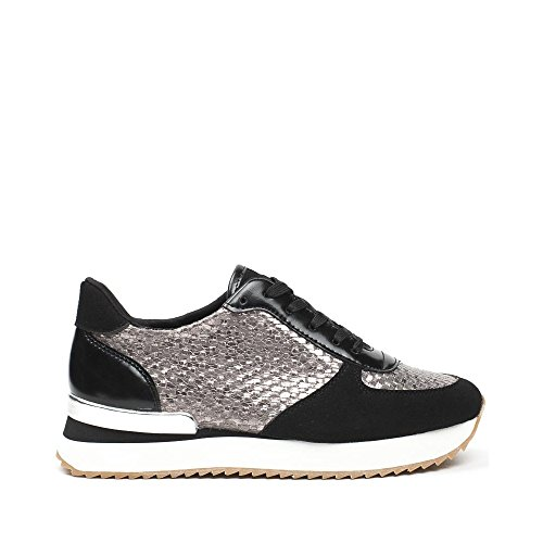 Ideal Shoes ,  Sneaker donna Nero